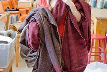 Tweed / Tweed yarn and designs in knitting and weaving