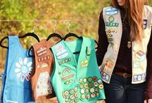 Girl Scout Senior / Girl Scout Seniors are Girl Scouts who are in ninth and tenth grades (around ages 14–16). Girl Scout Seniors use the Girl's Guide to Girl Scouting for and the National Leadership Journeys to earn badges. Girl Scout Seniors are eligible to earn the Gold Award.