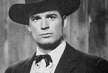 "James Garner / James Garner was the wry and handsome leading man who slid seamlessly between television and the movies, but was best known as the amiable gambler Bret Maverick in the 1950s western ""Maverick"" and the cranky sleuth Jim Rockford in the 1970s series ""The Rockford Files."""