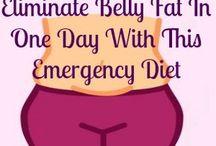 flat tummy in one day