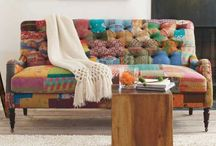 Not Your Grandmother's Upholstered Furniture / by Cynthia Connelly