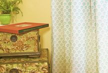 Floral Curtains / Floral Curtains - Decorative Curtains - Curtains for Living Room