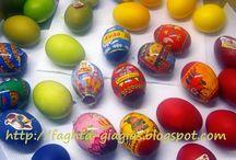 Πασχαλινά αυγά και οι βαφές