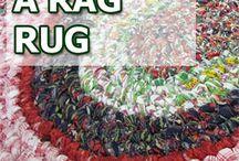 Crochet rugs, stools, pillows, puffs & stuff