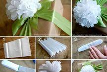 papier bloemen maken