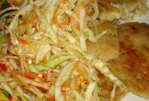 Papusas and Salad Recipes