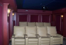 Our Custom Theaters / Custom home theaters we have designed and installed
