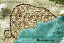 Thrones & Bones Maps / The maps for the world of Qualth, the setting for the Thrones & Bones series.