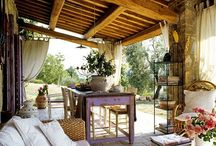 outdoor rooms / by Debra Livingston