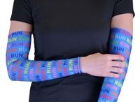 Running Arm Sleeves / Runner arm sleeves and arm warmers from goneforarun.com. custom personalized arm sleeves