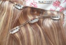 Clip in Hair Extensions / Check this board to know on how to use clip in hair extensions.