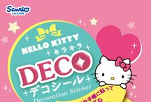 HELLO KITTY 「キラキラデコシール」 / http://www.re-ment.co.jp/products/sanrio_deco_s/index.html
