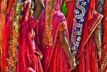 Indian Fashion and Tradition / Beautiful clothing and traditional fashion from all across India.