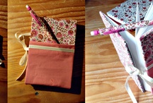 Creativity-driven (homemade items) / It first started with scrapbooking, it ended up with a whole mess of customized items.