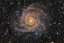 espacio celeste