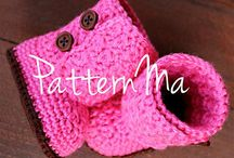 Crochet- Baby and Kids Shoes 5!