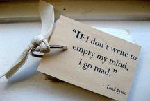Writerly Words