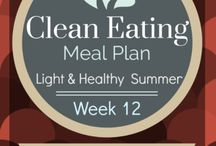 Clean Eating Plans / by Kelly Shissler