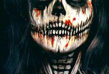 halloween meikkaus