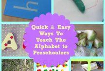 Quick & Easy Ways To Teach Preschoolers The Alphabet