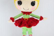 Loops crochet doll