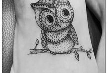 Tattoo ideas! / Owl!