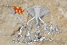 Geordie Cave Art