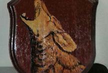 Dipinti e decorazioni ad acrilico