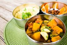Vegan Lunch Box Around the World / Photos of recipes from the cookbook Vegan Lunch Box Around the World by Jennifer McCann