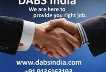 Placement consultants in delhi NCR / Dharra Advance Business Solution(DABS India) is a leading Manpower Agency. We provide here right job to the right candidate.