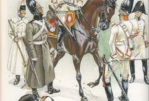 Ruská kavalerie- napoleonské války
