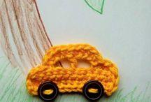 Háčkované a pletené návody / Crochet and knitting free patterns