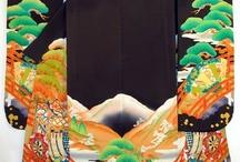 Kimono...noh costume...etc...