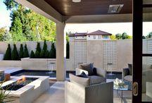 Outdoor Design Elements 2015 / http://www.mstoneandtile.com/stone-fireplace-mantels/outdoor-design-elements-2015/
