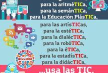 Frases y Pensamientos TIC / Frases y Pensamientos de #EDUCACIÓN y #TIC en infografías.