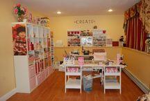 Dream craft rooms / Craft rooms