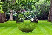 Escultures jardi
