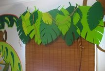 Jungle Theme School Open House