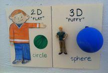 Strand maths 2d 3d shape