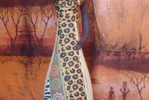 africanas de garrafas