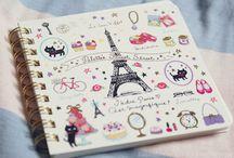 Diaries & Journals / Diarios, libretas y similares / by Karlota