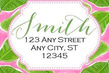Address Labels & Stationery