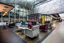 Airport lounges / Salas aeropuertos