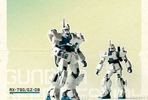 Gundam / by James Mattison