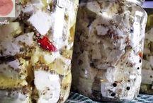 brânză  la borcan