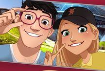 Cute Couples: TadaHoney / Tadashi + Honey Lemon