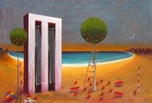 Greek artist =Δημητρης Μιλιωνης (Dimitris Milionis)-Κωστας Τσοκλης (Costas  Tsoklis)