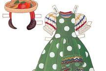 Paper Dolls~The Blonde Series - Bonnie Jones