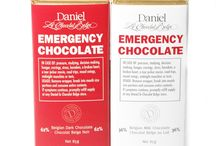 Daniel's Chocolate Bar Collections / Solid Belgian Chocolate Bars