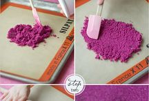 Ombre sugar diy